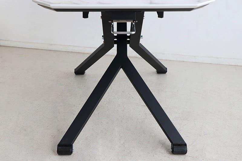 【ネット限定】ダイニングテーブル マーブリフトテーブル