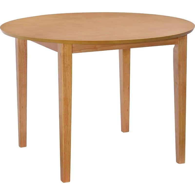 【ネット限定】ダイニングテーブル ブルック100:ダイニングテーブル ブルック100 NA