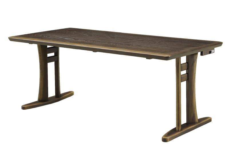 【ネット限定】ダイニングテーブル T877(180)2本脚:ダイニングテーブル T877(180)2本脚
