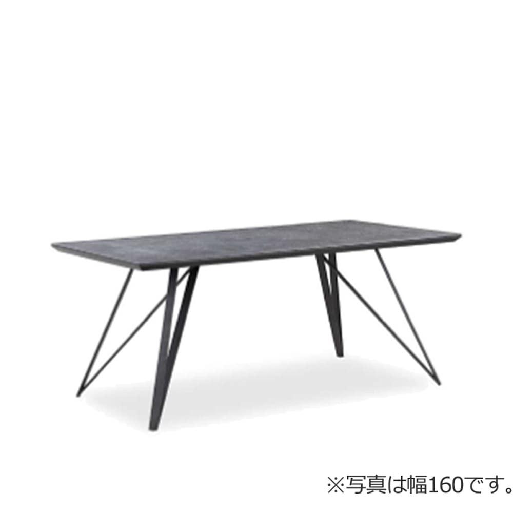 180ダイニングテーブル JP−1669DT−180−BK:粘土や長石等の鉱物を混ぜ合わせ、高温で焼き上げた磁器素材です