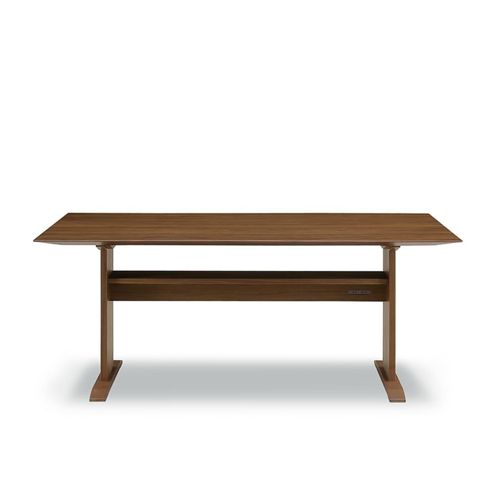 LDテーブル リッジ160テーブル直線:シャープソリッドを使用することで無垢本来の質感や深み