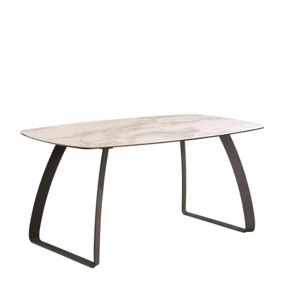 ダイニングテーブル ブライツ テーブル160×90 ホワイトクオーツ