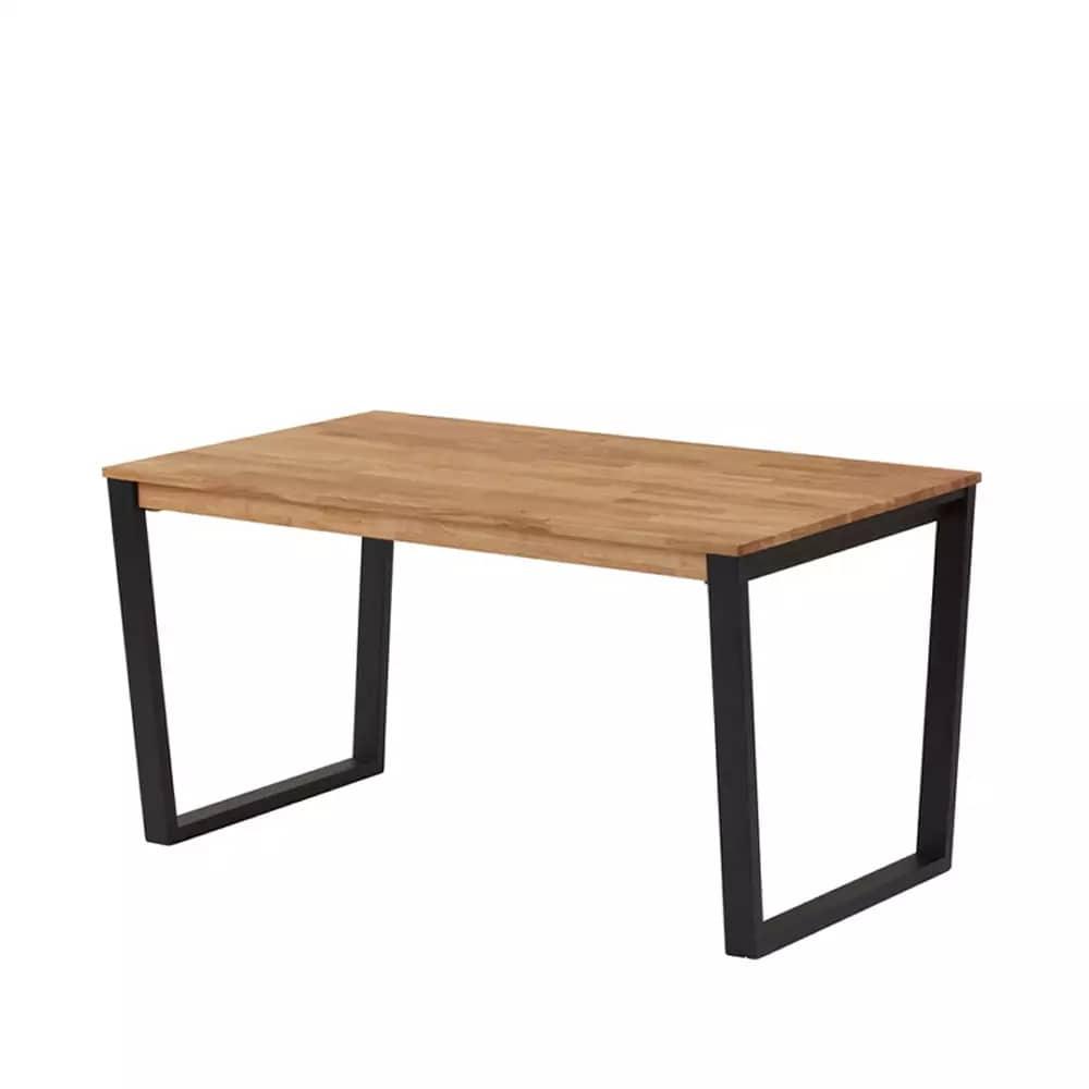 ダイニングテーブル DTルフレ 斜脚 135 OAK:ダイニングテーブル 斜脚
