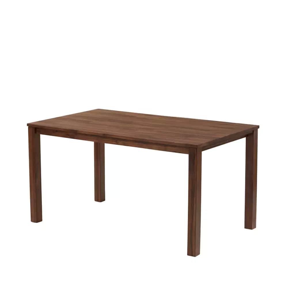 ダイニングテーブル DTルフレ 角脚 135 WN:ダイニングテーブル 角脚