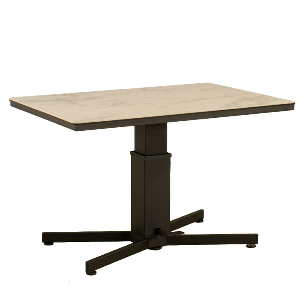 LDテーブル アレット リフトテーブル 120×80:アレットリフトテーブル(セラミック)