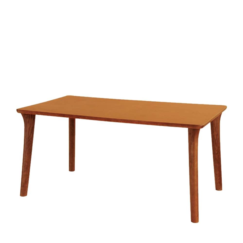 ダイニングテーブル SDT−9400(135x80) ダークオーク:ダイニングテーブルの天板は、両面UV塗装