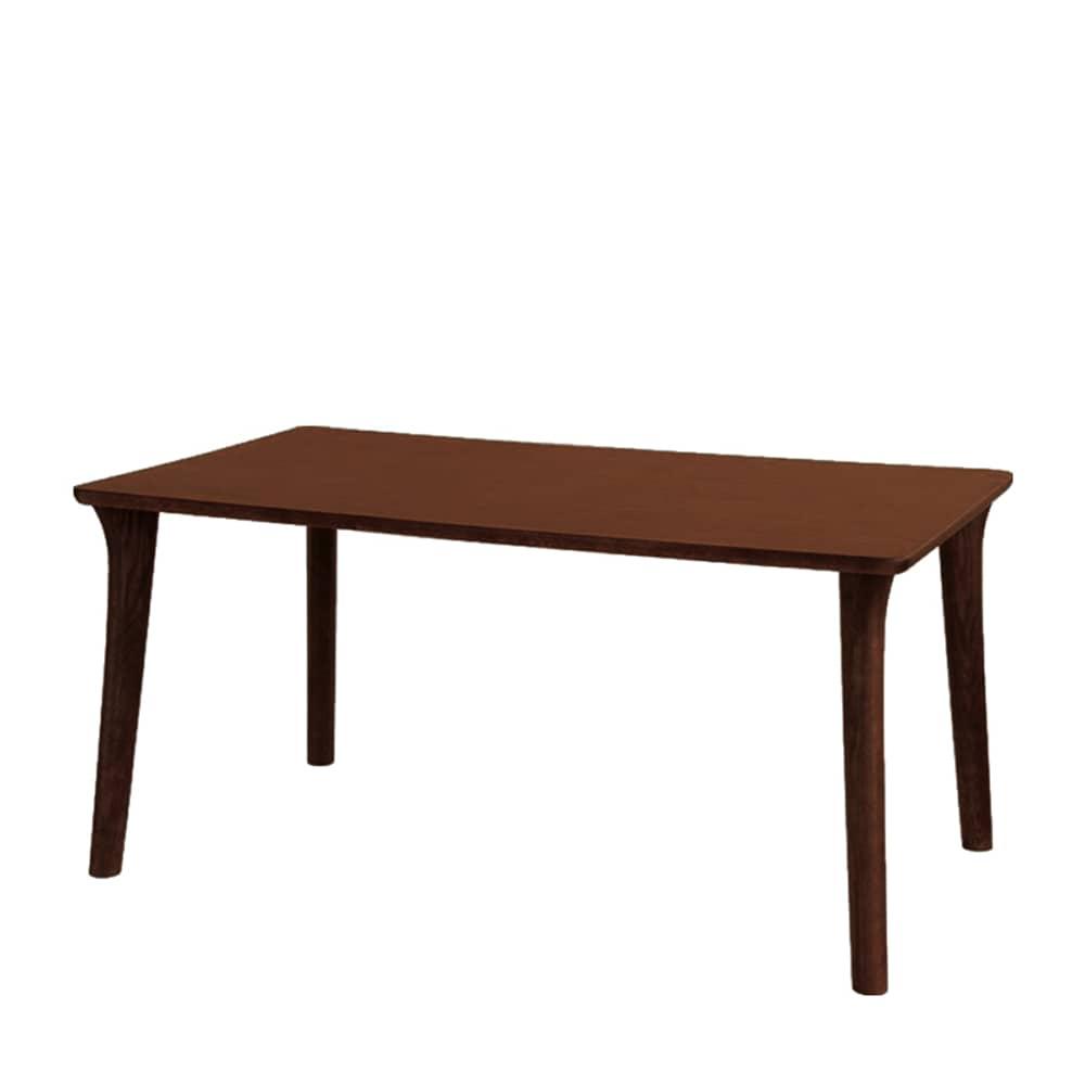 ダイニングテーブル SDT−9408(135x80) カフェオーク:ダイニングテーブルの天板は、両面UV塗装