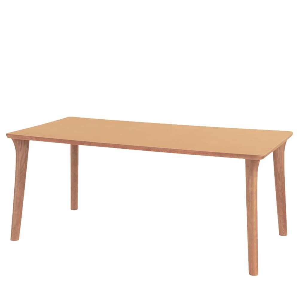 ダイニングテーブル SDT−9404(150x80) ナチュラルオーク:ダイニングテーブルの天板は、両面UV塗装