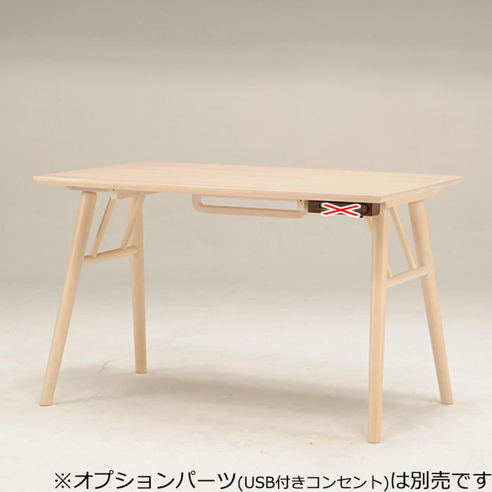 ダイニングテーブル DLT−メルティー(4本脚W115) WH