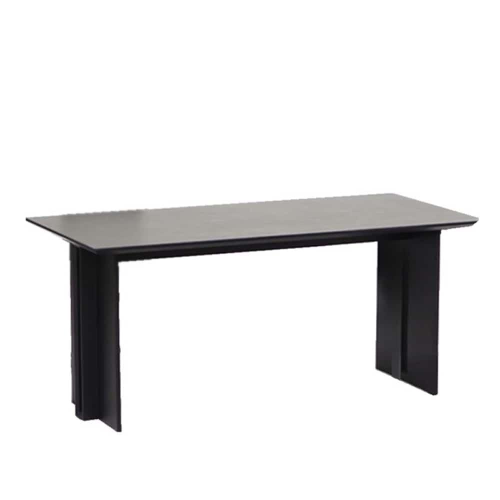 ダイニングテーブル アトランテ 165DT:天板は傷、汚れに強いセラミック材