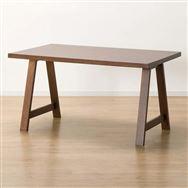 【ニトリ】 ダイニングテーブル Nコレクション T−06A 135 MBR ミドルブラウン