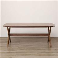 【ニトリ】 リビングダイニングテーブル リラックスワイド160 WN-MBR ミドルブラウン