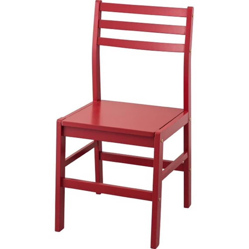 【ニトリ】 組み立てチェア Nトーン 01 RED レッド:華やかで明るい空間を演出