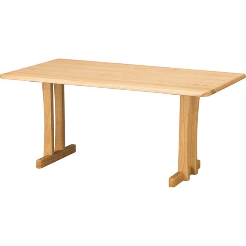 【ニトリ】 リビングダイニングテーブル オークエスト15085 NA ナチュラル:ぬくもりのある風合いと飽きのこないデザインの【オークエスト】シリーズ。