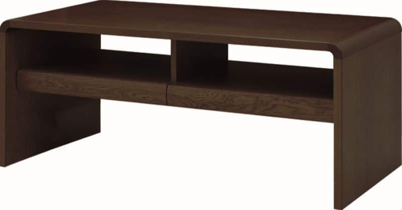 リビングテーブル 白珠 T−1108(120×60)カフェオーク:リビングテーブル ※写真は【100×50cm】サイズです