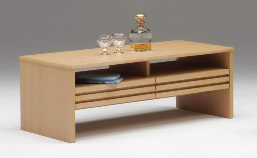 リビングテーブル サロット 110NA:《リビングテーブル「サロット」》※小物類はイメージです。