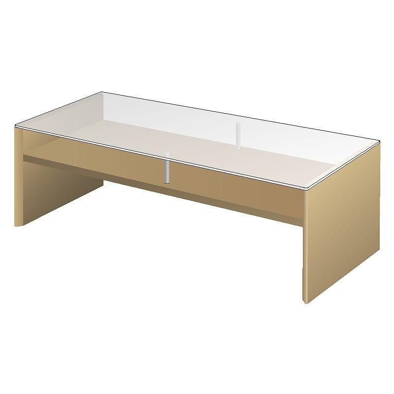 リビングテーブルTFC−120R Oホワイトオーク:リビングテーブル