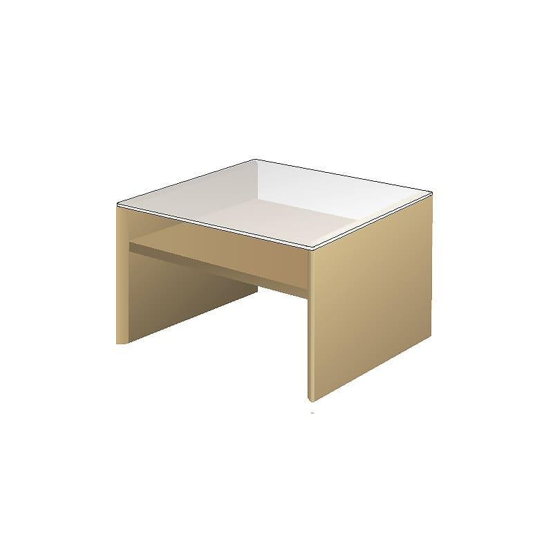 リビングテーブルTFC−65S Oホワイトオーク:リビングテーブル
