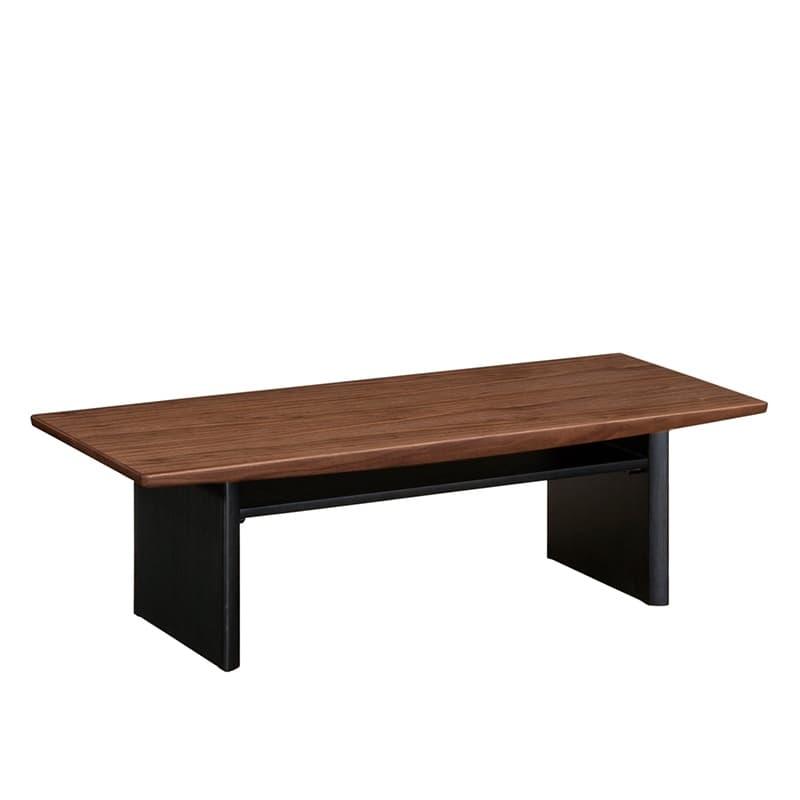 リビングテーブル 135 T17492XRG ウォールナット/BK