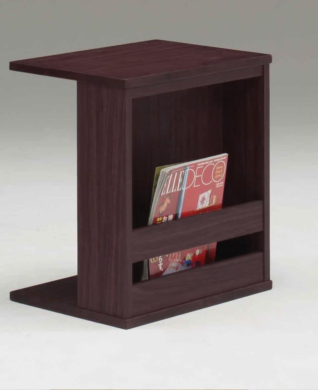 サイドテーブル セラ 500 DB:サイドテーブル ※小物類はイメージです。