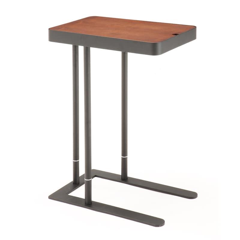 サイドテーブル ノエル SST−810 DBダークブラウン:サイドテーブル