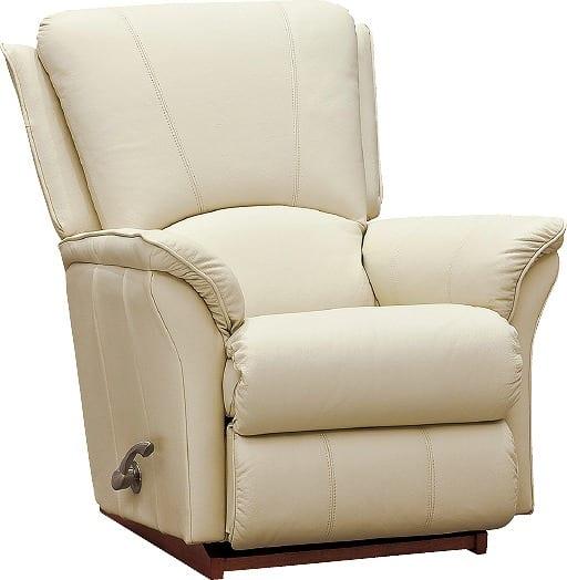 パーソナルチェアーSSQ−501・IVL 本革(一部レザー):《LA−Z−BOY(レイジーボーイ)社はアメリカを代表する家具メーカー》