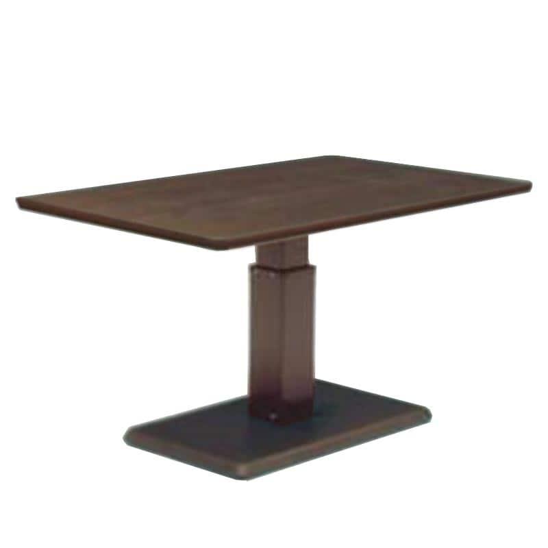 昇降テーブル ステップ120長方形H W(ODB)オークブラウン