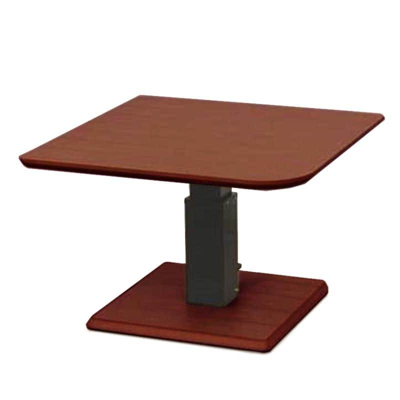昇降テーブル ステップ100変四角L(OWNT)ウォールナット:昇降テーブル
