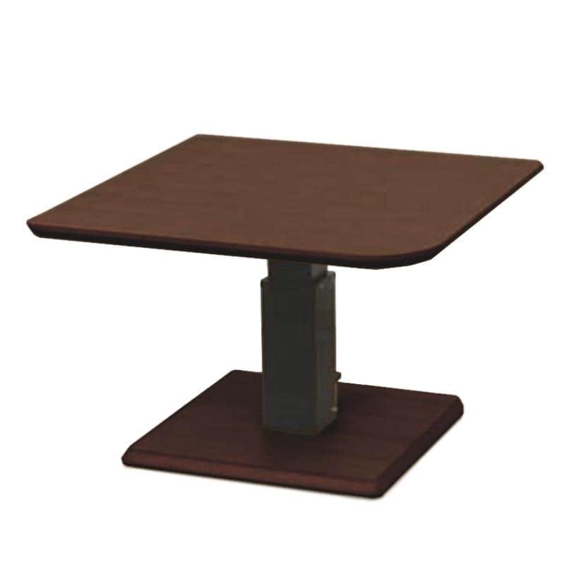 昇降テーブル ステップ100変四角L(ODB)オークブラウン:昇降テーブル