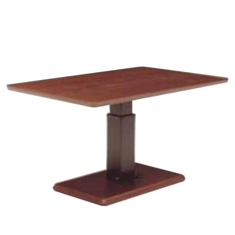 昇降テーブル ステップ120長方形L W(OWNT)ウォールナット