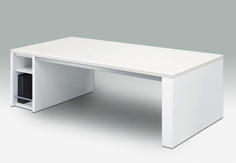 リビングテーブル ソリオ 120:《収納BOX付のUV塗装リビングテーブル「ソリオ」》