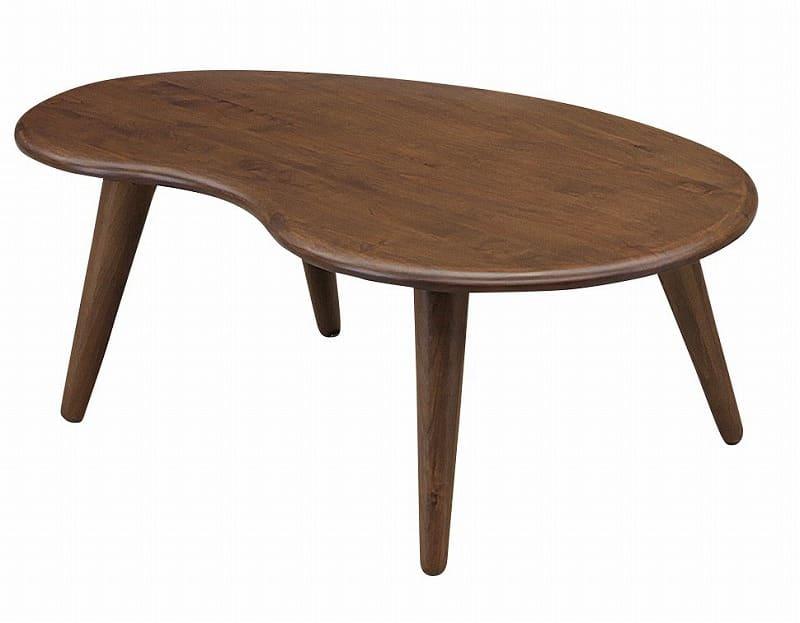 リビングテーブル 90ビーンズ BR:リビングテーブル