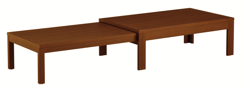 リビングテーブル ロングN 120×75 WN:《伸長式のリビングテーブル「ロングN」》