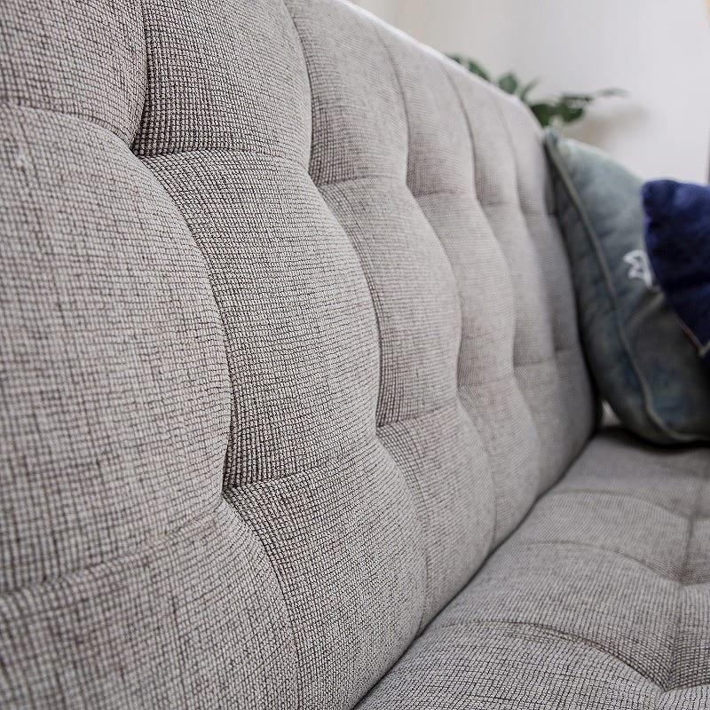 ソファベッド  キャレットSB BK:適度にソフトな座り心地&寝心地
