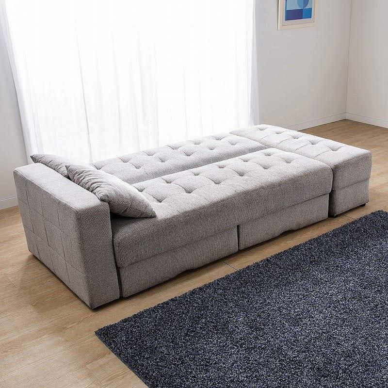 ソファベッド  キャレットSB GR:ベッドスタイル