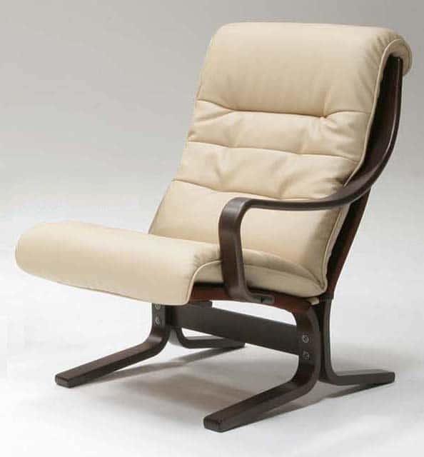 1人掛椅子(左肘)ストリーム L08290L VAHR21:《圧迫感のない、ゆったりとした掛け心地のリビングチェア》