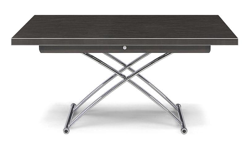 昇降テーブル プラント130 BK:機能だけでなく、デザイン性にも優れた昇降テーブル