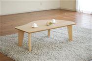 リビングテーブル ポット LT−524(120×70) TNナチュラル