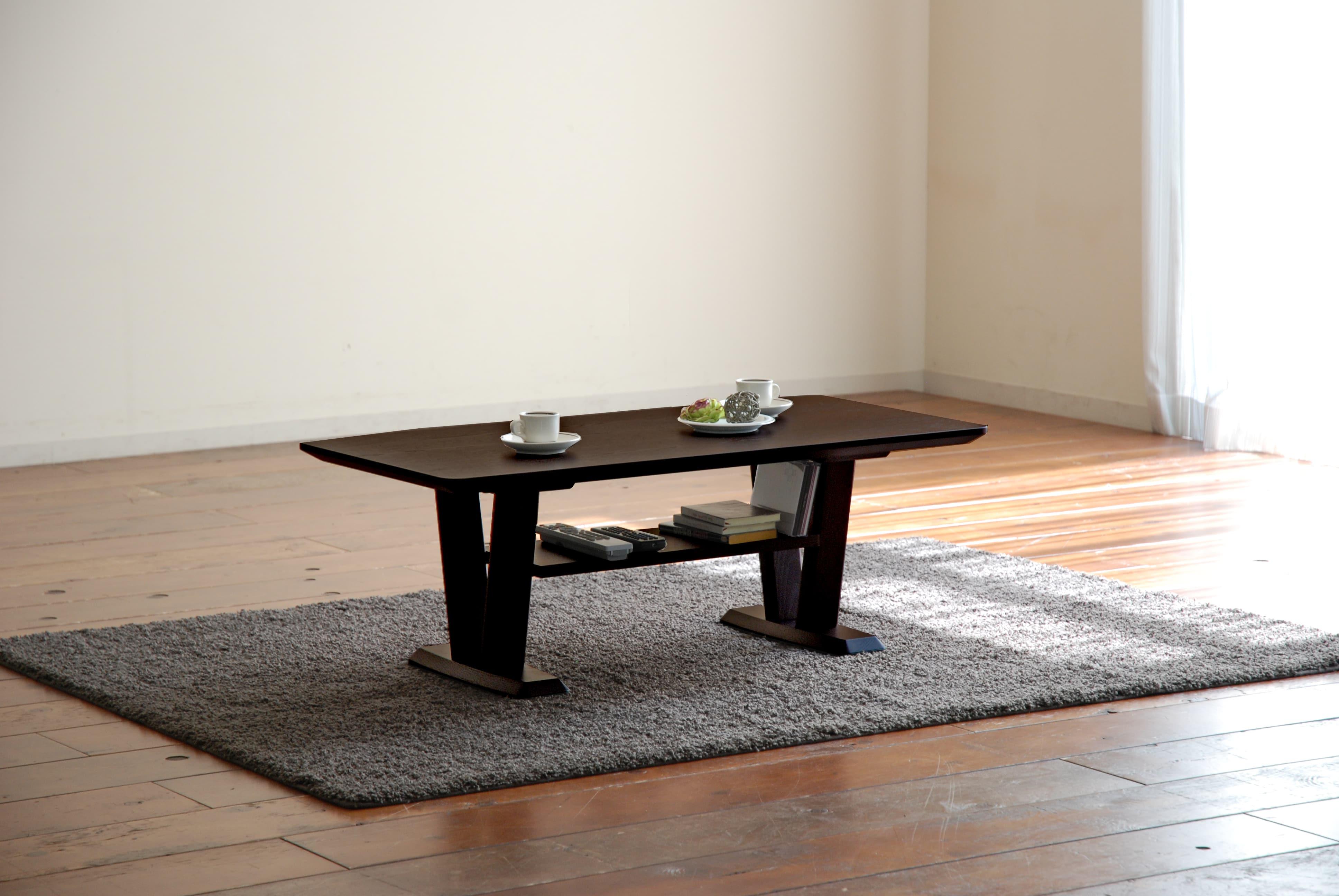 リビングテーブル カク LT−518(105×50) UGウエンジ:リビングテーブル ※写真はイメージです