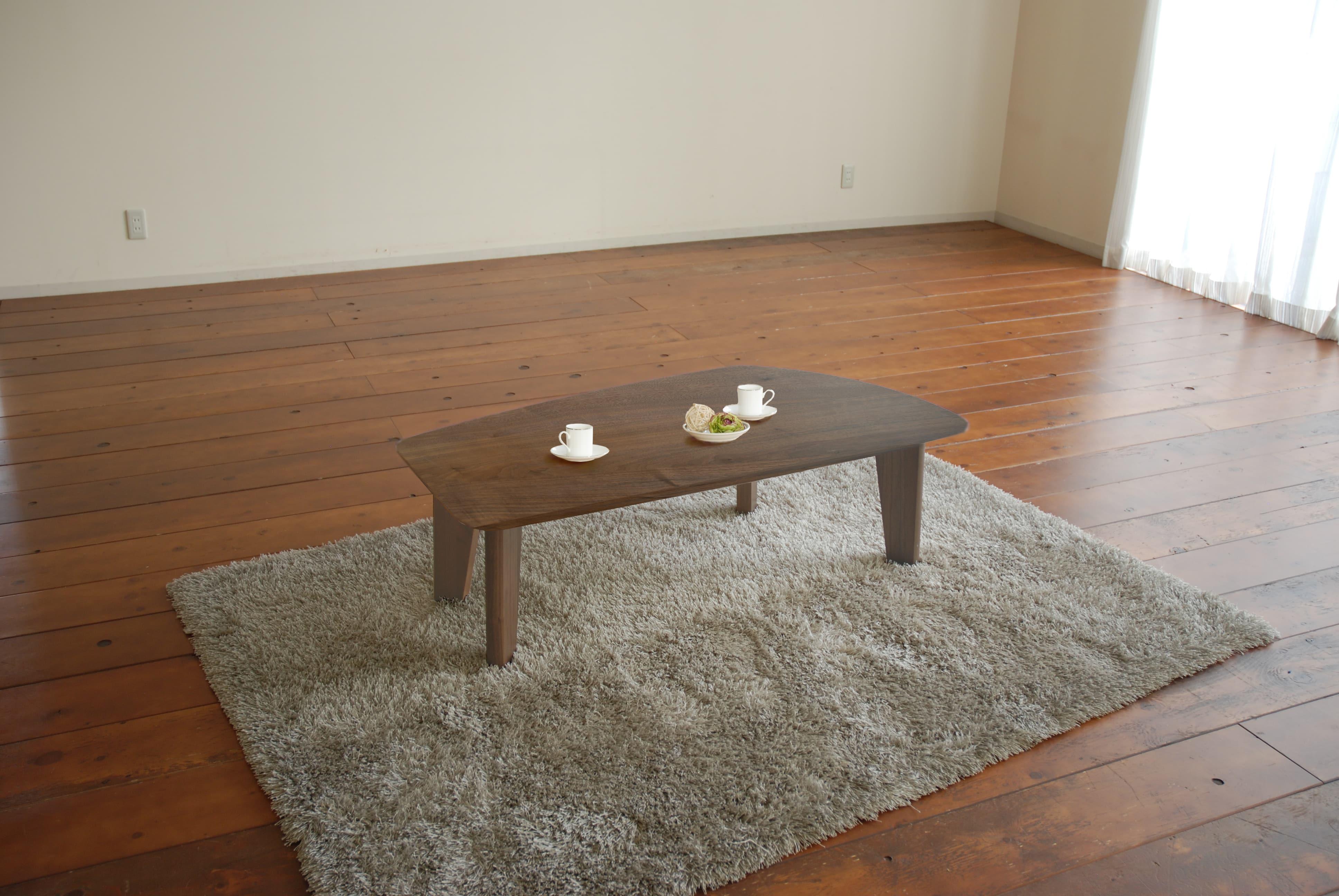 リビングテーブル ボート LT−497(変形120) RNブラウン:リビングテーブル ※写真はイメージです