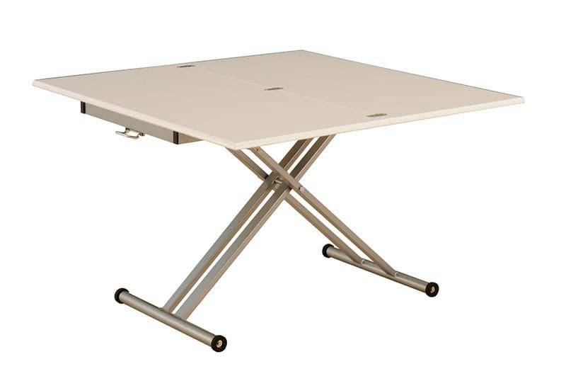 昇降伸長式テーブル シグ110 WH:昇降伸長式テーブル