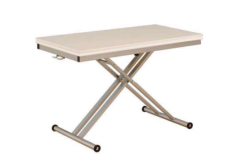 昇降伸長式テーブル シグ110 WH