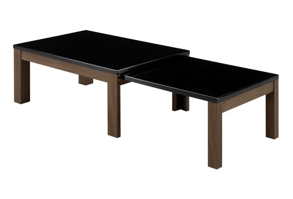 リビングテーブル エコー C BK:リビングテーブル