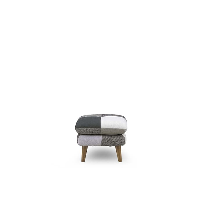 スツール ヨランダ(モノ):◆パッチワーク柄がおしゃれなデザインソファーです。