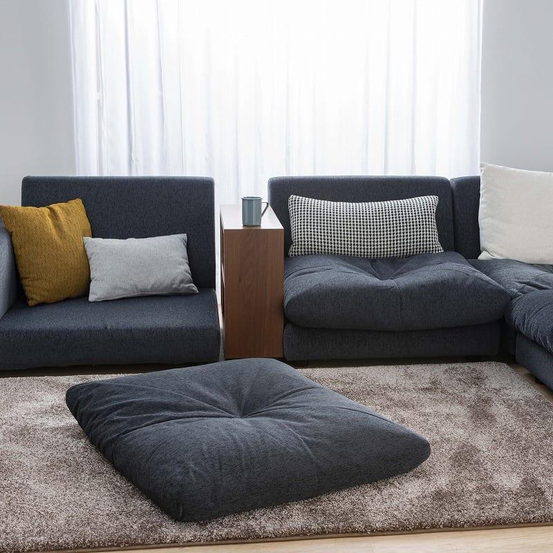 コーナーソファー  クシーノ Tランク:フラット座面のソファー