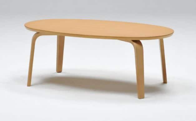 リビングテーブル フィーカ オーバル NT:リビングテーブル