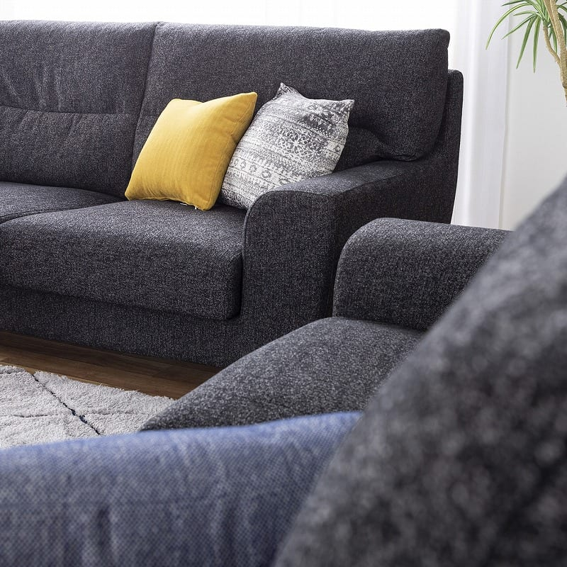 3人掛けソファー ロータイプ 硬さハード Foam05