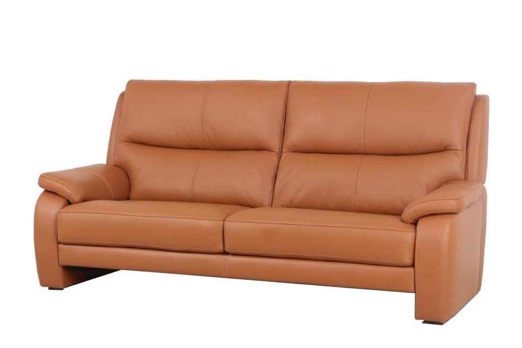 3人掛けソファー(2S) エッセン�U ソフト(B−Mランク)M04:腰から首までサポートされるためホールド感のある座り心地エッセン�U