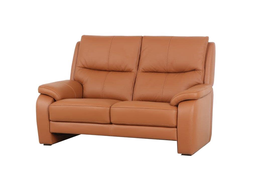 2人掛けソファー エッセン�U ソフト(B−Mランク)M04:腰から首までサポートされるためホールド感のある座り心地エッセン�U
