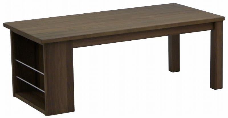 リビングテーブル アイビス 105CT WN/DBN:リビングテーブル